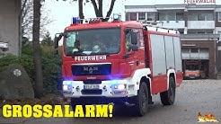 [Brand in ehem. ENDO-Klinik Wintermoor] Vollalarm Feuerwehr Schneverdingen (Echteinsatz!)