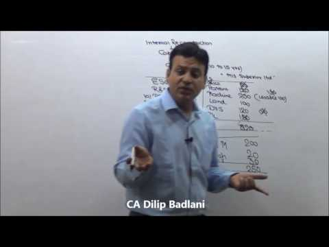 Accounts : Internal Reconstruction : Lecture 1