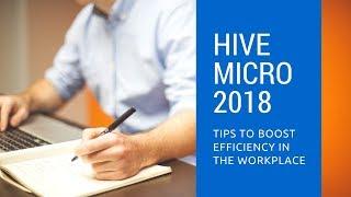 Como trabajar en hive micro o hive work 2018