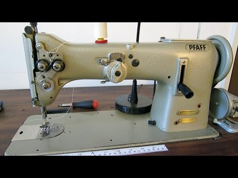 how to set hook timing mitsubishi industrial sewing machien