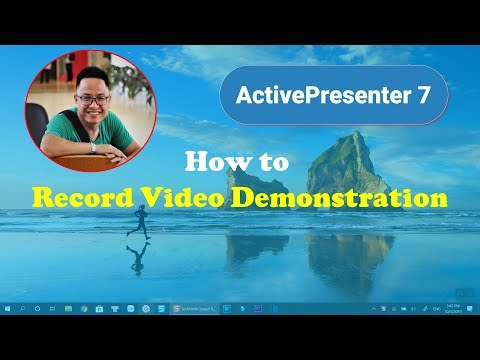 How to RECORD VIDEO DEMONSTRATIONS Using Free Screen Recorder| ActivePre...