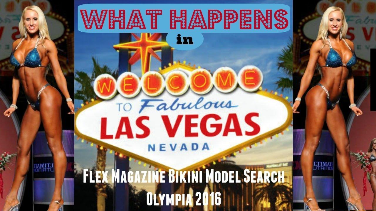 Flex bikini model search many