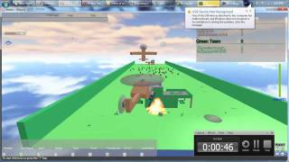 ROBLOX Gameplay - War! CTF by Scripttester123