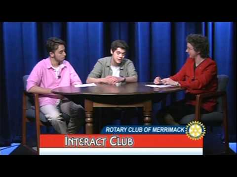 Rotary Club of Merrimack and The Merrimack High School Interact Club Discussion - May 13, 2017