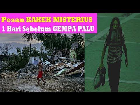 Pesan Misterius Sehari Sebelum Gempa Sulawesi Tengah
