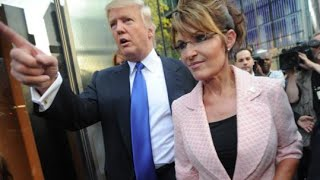 The Ultimate Troll: Donald Trump Teases Appointing Sarah Palin to His Presidential Cabinet