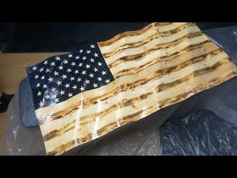 DIY Wavy American Flag (In Depth Tutorial)