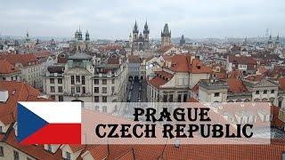 Personal Travel: Prague, Czech Republic (2016)