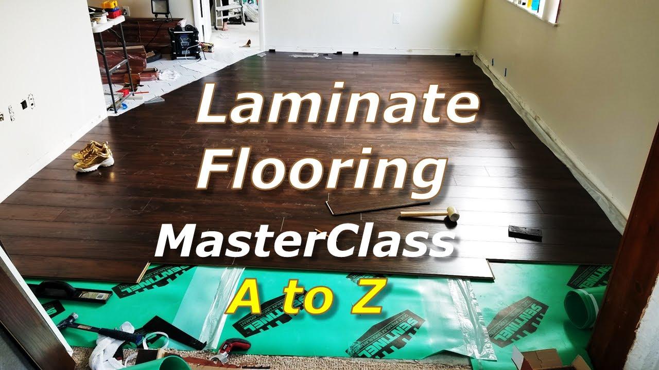 Laminate Floor Installation - How to