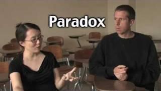 Irony vs. Paradox