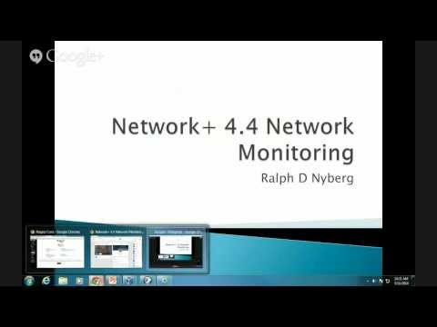 Comptia Network+ N10-006 Domain 2.1 Network Monitoring