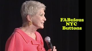 Jeanne Robertson   FABulous NYC Buttons