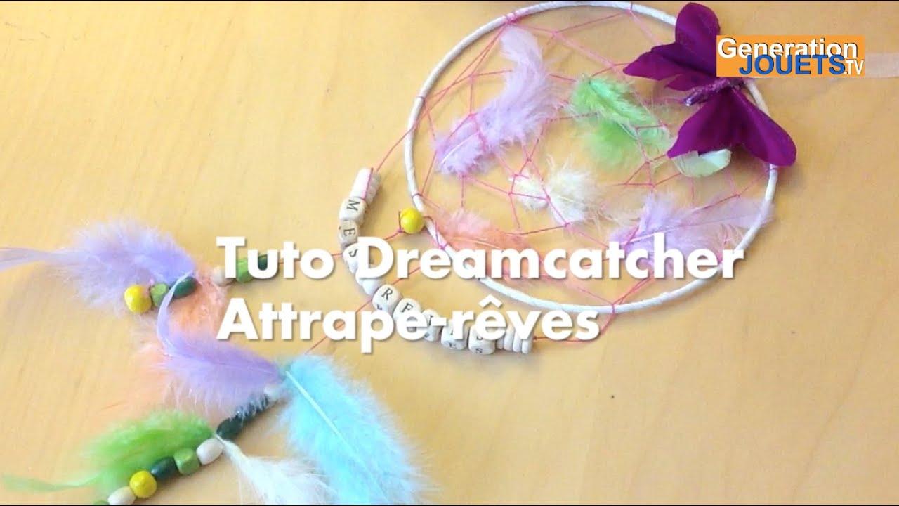 tuto diy dreamcatcher attrape r ves facile youtube. Black Bedroom Furniture Sets. Home Design Ideas