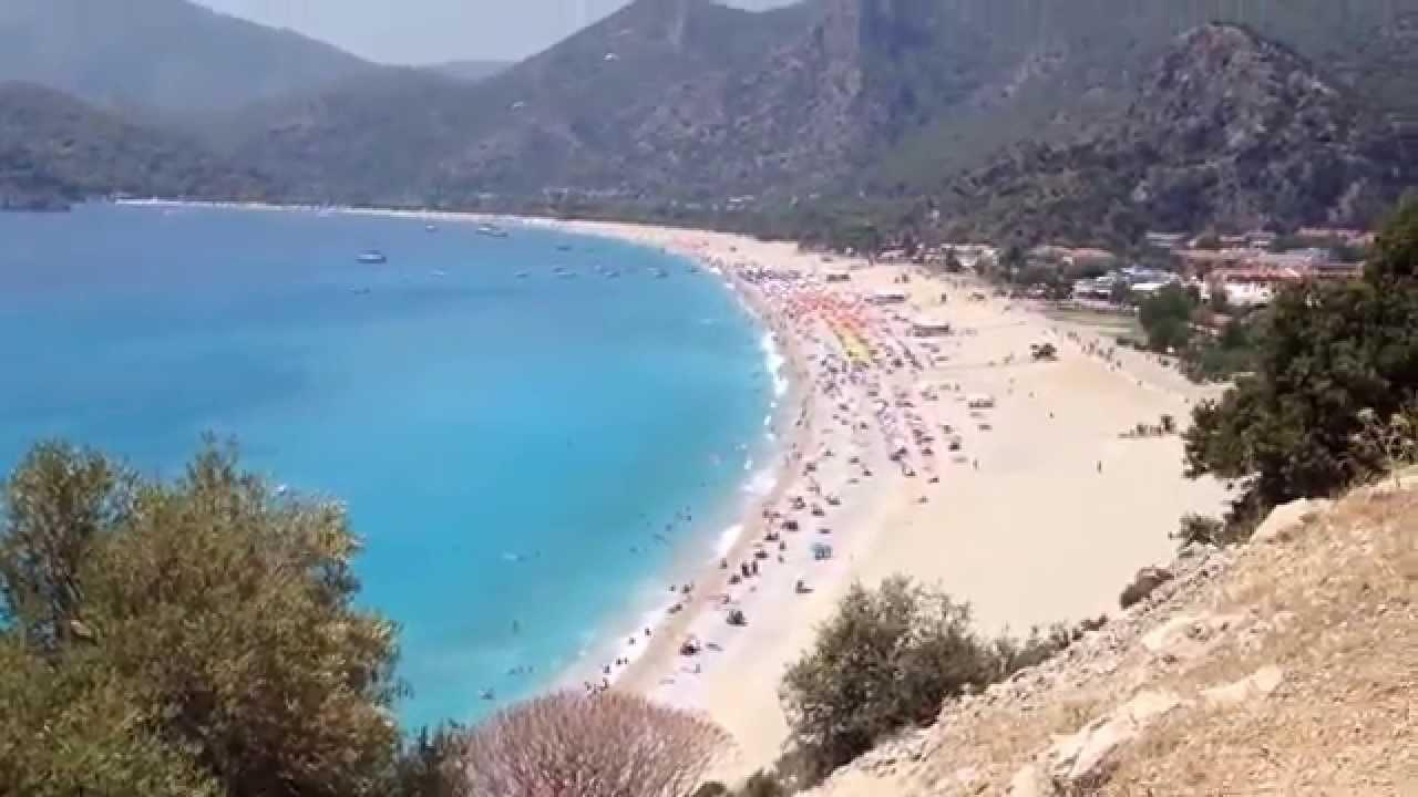 Fethiye Ölüdeniz Sahili 2014 - YouTube