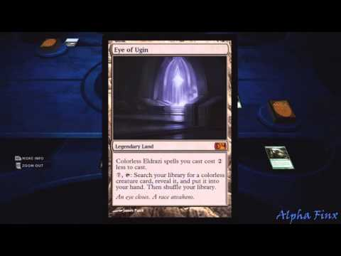 Magic 2014 Chant of the Mul Daya Multiplayer Match gameplay Duels of the Planeswalkers