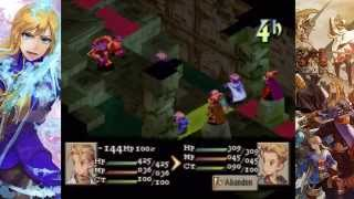 Final Fantasy Tactics [Part 40] - Underground Cemetary of Limberry Castle, Zalera