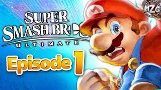 Super Smash Bros. Ultimate Gameplay Walkthrough - Episode 1 - World of Light Story Mode!