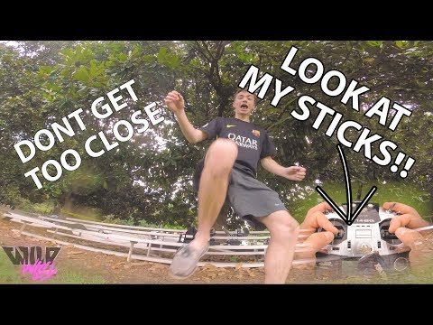 LOOK AT MY STICK ;) || STICK CAM ACTION