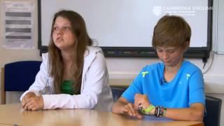 Cambridge English Key for Schools Speaking Exam