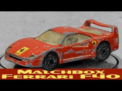 Ferrari F40 Restoration 1980s Supercar Matchbox Youtube