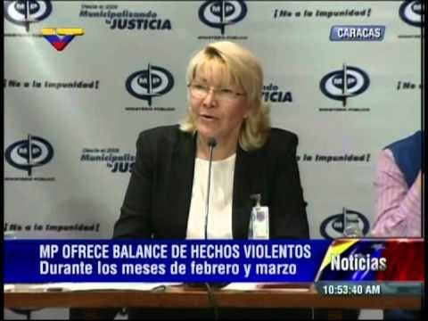 Rueda completa de prensa de Luisa Ortega Díaz este 4 de abril de 2014