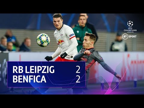 Leipzig vs Benfica (2-2) | UEFA Champions League Highlights