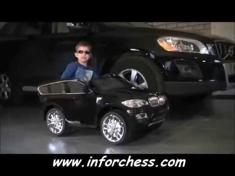 Coche Electrico Infantil Bmw X6 Inforchess Com Youtube