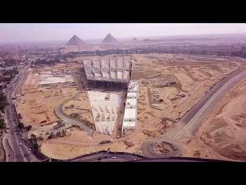 Sneak peek inside the Grand Egyptian Museum GEM