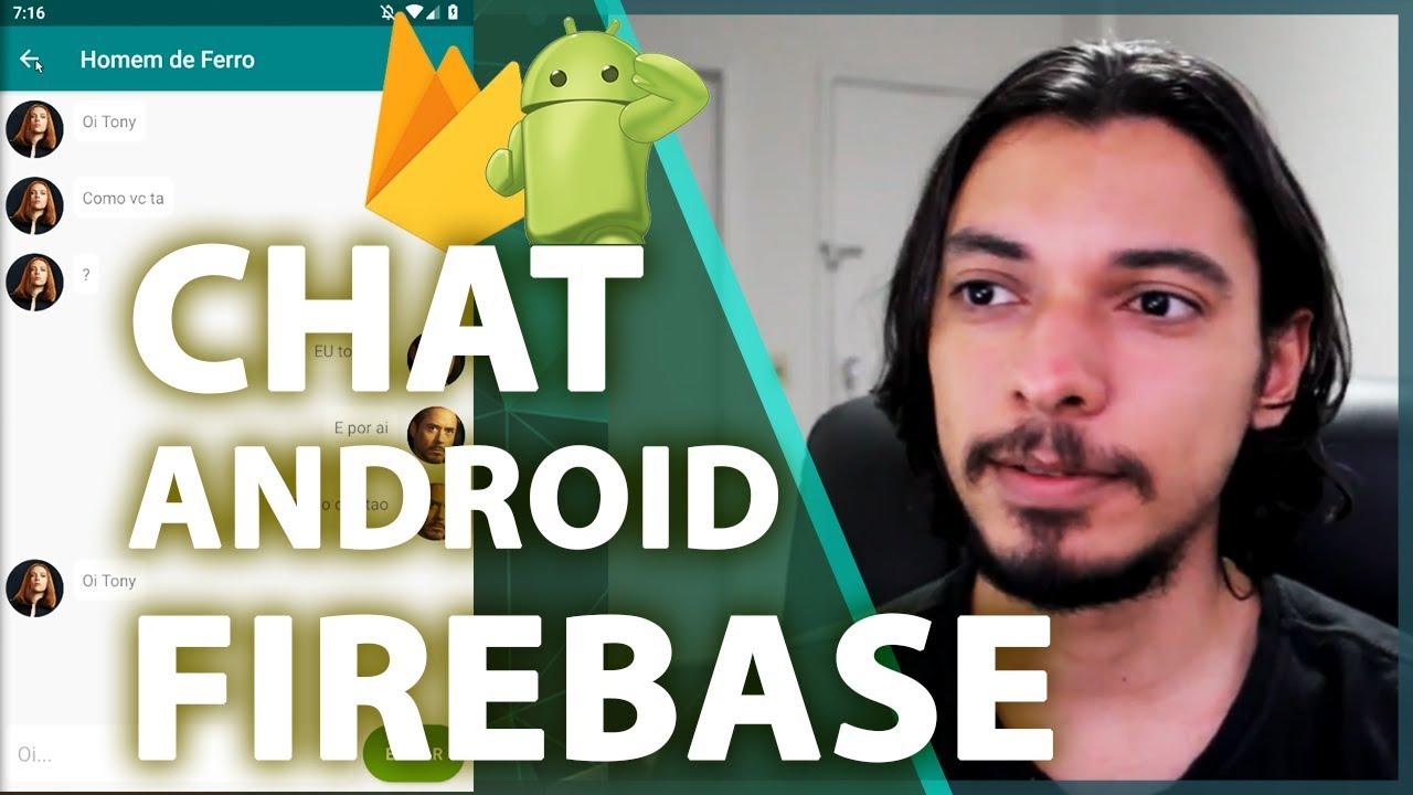Firebase Chat Android Tutorial - Primeiros Passos