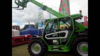 różne maszyn rolniczych wystawa sitno 2016