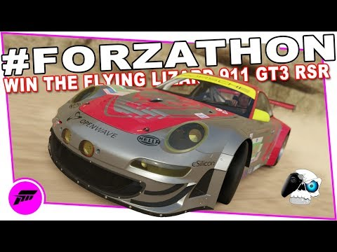 chase-down-victory-#forzathon-(forza-horizon-3)-win-the-#45-flying-lizard-911-gt3-rsr