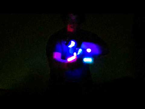 Excision lightshow by chess