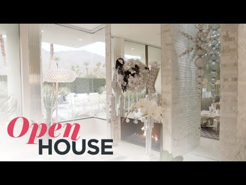 How Designer David Meister Decorates His Palm Springs Home During the Holidays   Open House TV