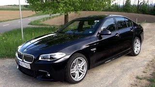 2015 BMW 530d (258 HP) Test Drive