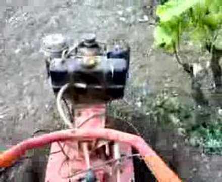 Il mio motozappa 9cv youtube for Motozappa youtube