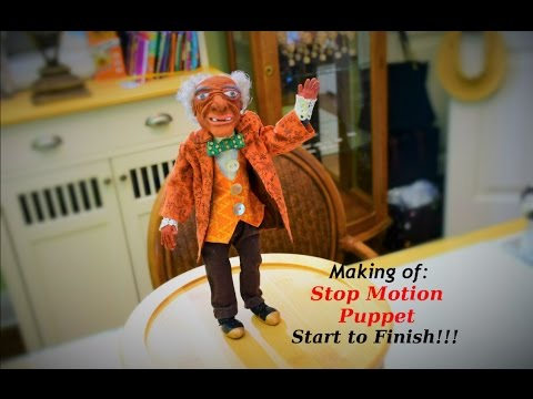 How to make a Stop Motion Puppet: Start to Finish!