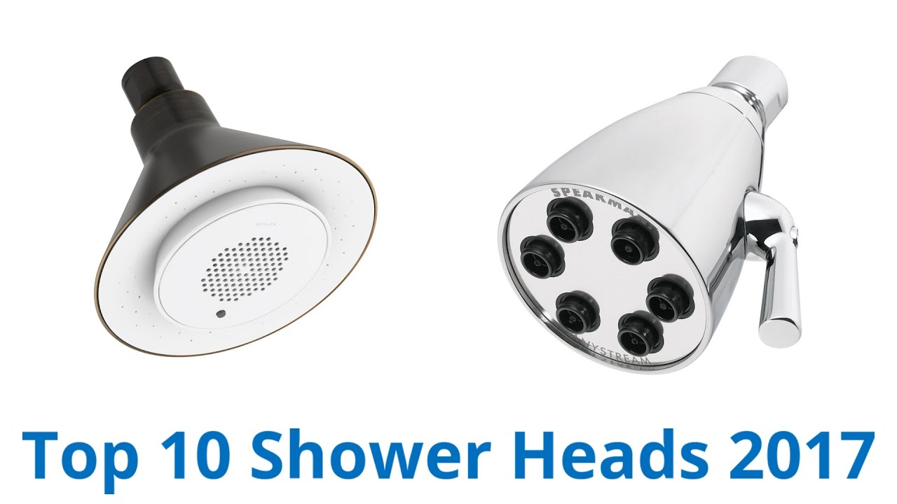 best shower heads 10 best shower heads 2017 10872