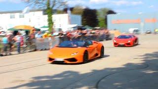 Lamborghini Aventador + Huracan Spider - Brazzeltag Speyer 2016