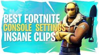 Best Fortnite Console Settings - Insane Clips