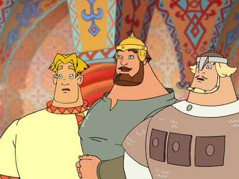 Игра Три богатыря и шамаханская царица