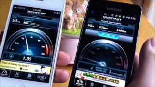 KevinBear test Apple iPhone 4s vs Samsung Galaxy S II