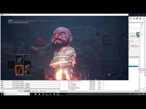 Creating An Advanced Dark Souls 3 Miniboss In Cheat Engine - Part 1 Of 2 Tutorial