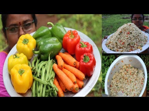 Delicious Capsicum Fried Rice / Simple Bell Pepper Fried Rice Recipe / Food Money Food