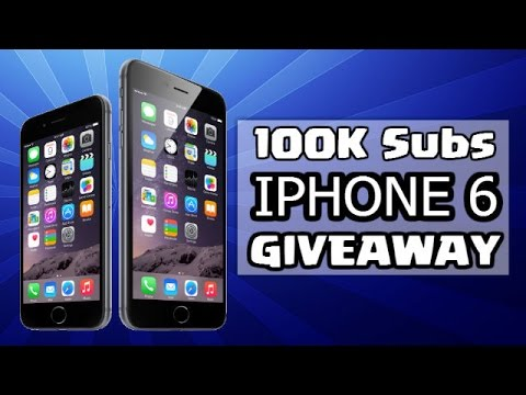 apple iphone contest quot apple iphone 6 giveaway quot 100 000 subscriber special 7503