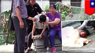 Śmierć pod kołami betoniarki: straszny wypadek na skuterze