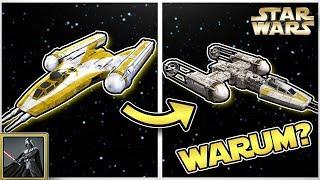 Star Wars: Warum sehen die Y-WINGS der Rebellen so anders aus als die der Republik? [deutsch]