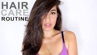 HAIR CARE ROUTINE   My Hair Tips   Eman