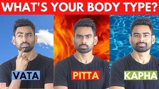Ultimate Ayurvedic Body Test in 5 Mins (Vata Pitta Kapha Explained)