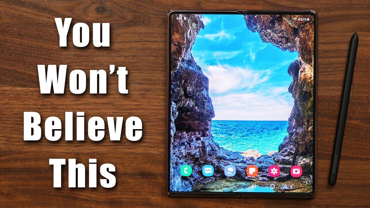 Samsung Galaxy Z Fold 3 -  YOU WON'T BELIEVE THIS