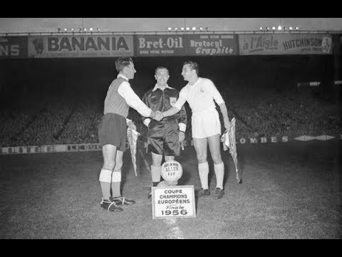 Final de la Copa de Campeones de Europa 1955-56 Real Madrid vs ...